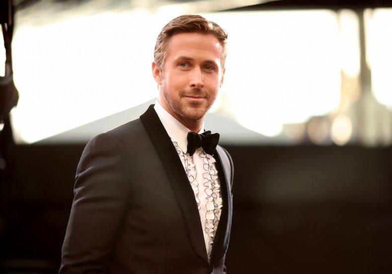 Ryan gosling at Oscars
