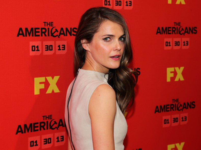 Keri Russell at The Americans premiere