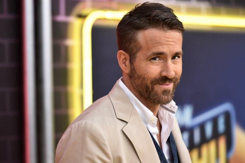 Ryan Reynolds at Detective Pikachu