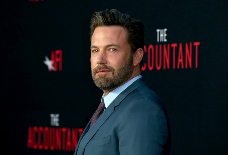 Ben Affleck at The Accountant premiere
