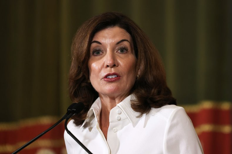 Gov. Kathy Hochul Gives Public Address