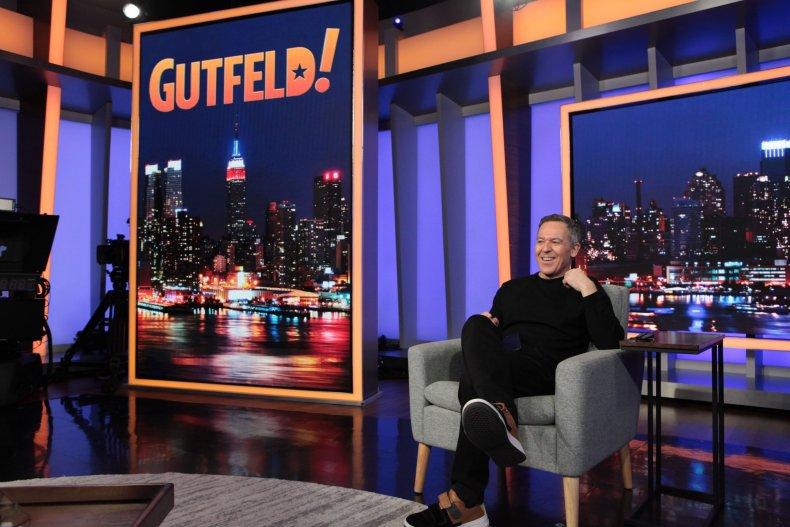 "Greg Gutfeld of ""Gutfeld!"""