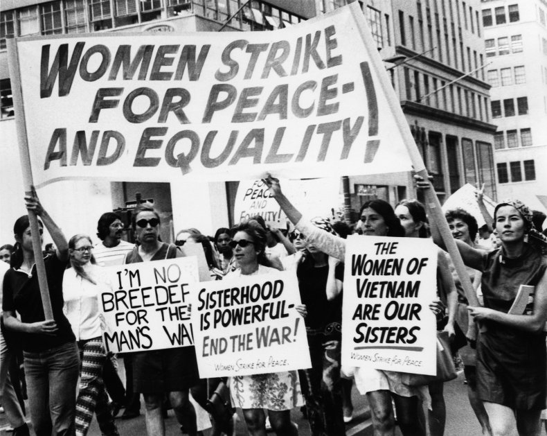 Women's Strike for Equality New York 1970