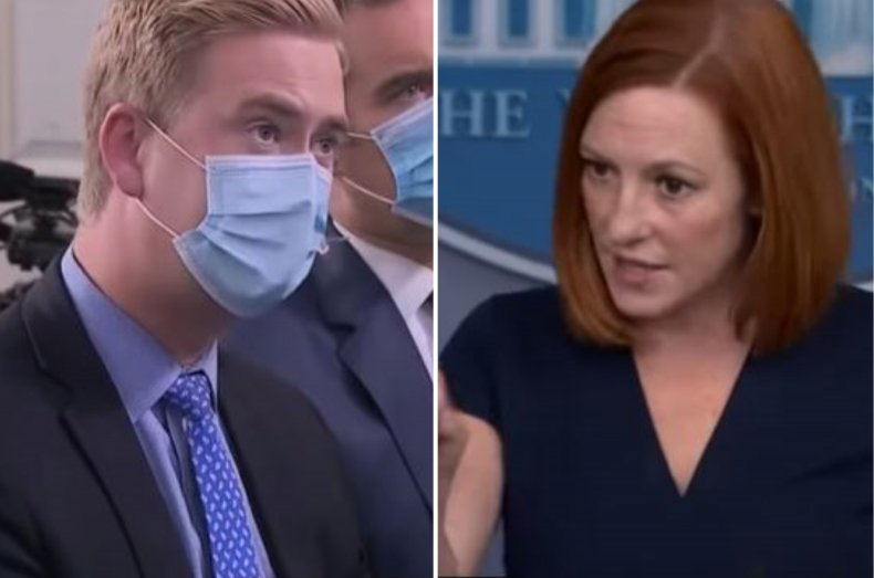 Doocy questioned Psaki on Tuesday