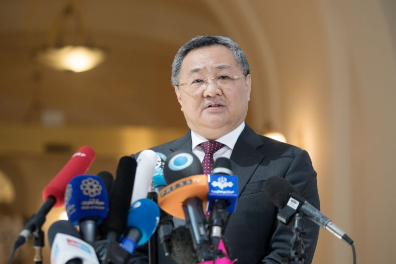 China's Foreign Ministry Director General Fu Cong