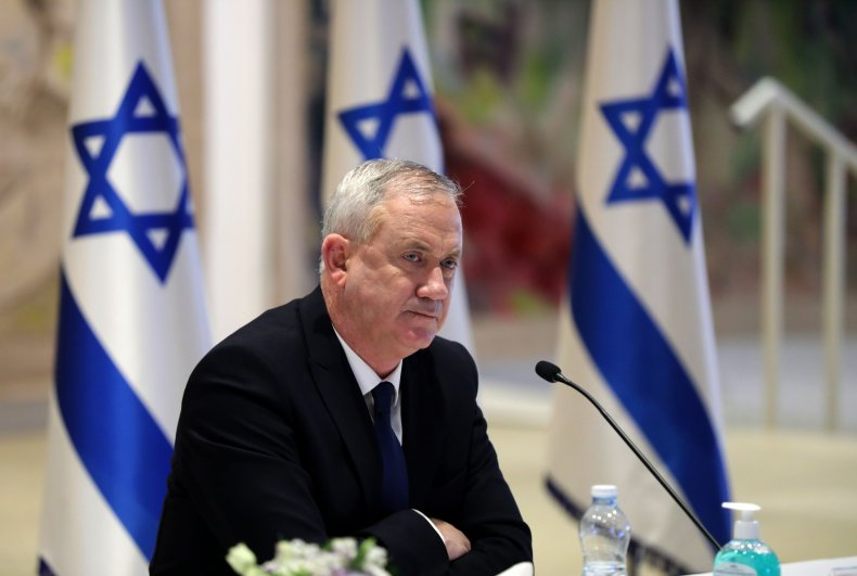Israeli Defense Minister Benny Gantz