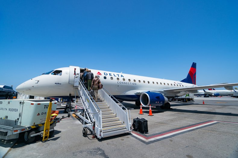 Delta Airlines Fine Unvaccinated Employees