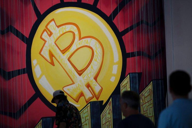A bitcoin banner