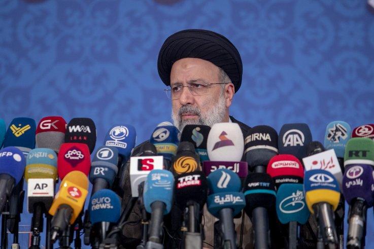 Iran's President-elect Ebrahim Raisi holds press conference