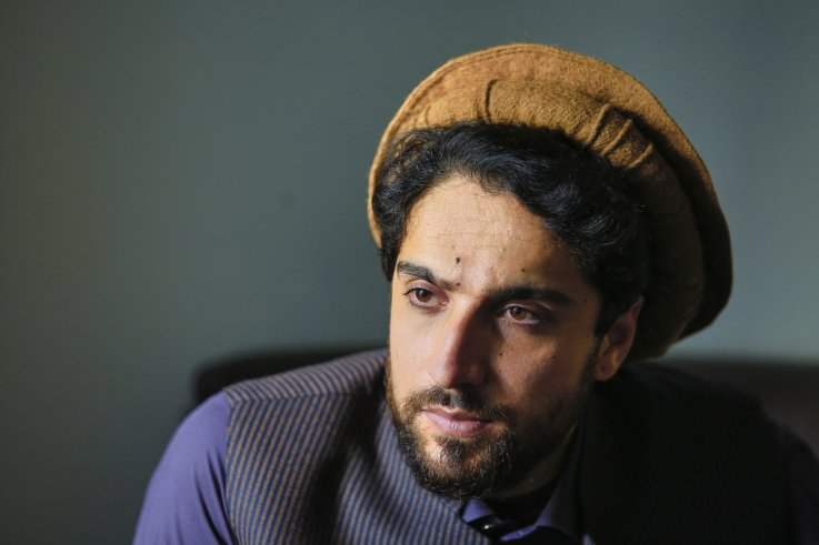 Ahmad Massoud, son of Ahmad Shah Massoud, launches