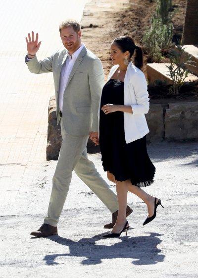 Prince Harry, Meghan Markle Visit Morocco