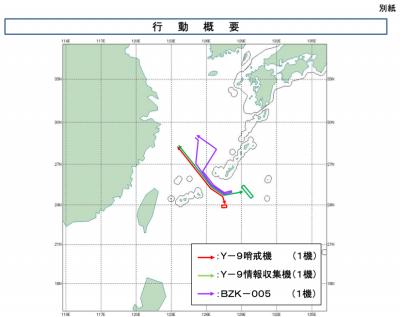 Japan Intercepts 3 Chinese Drones, Warplanes