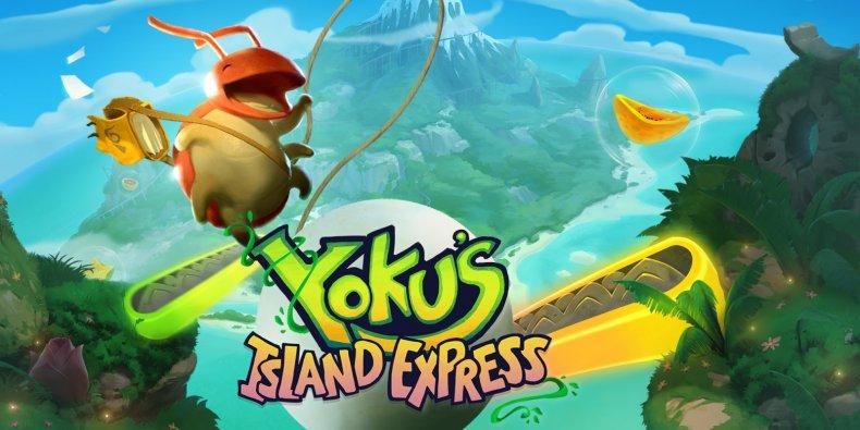 Yoku's Island Express Keyart