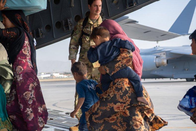 Afghanistan evacuation at Hamid Karzai International Airport