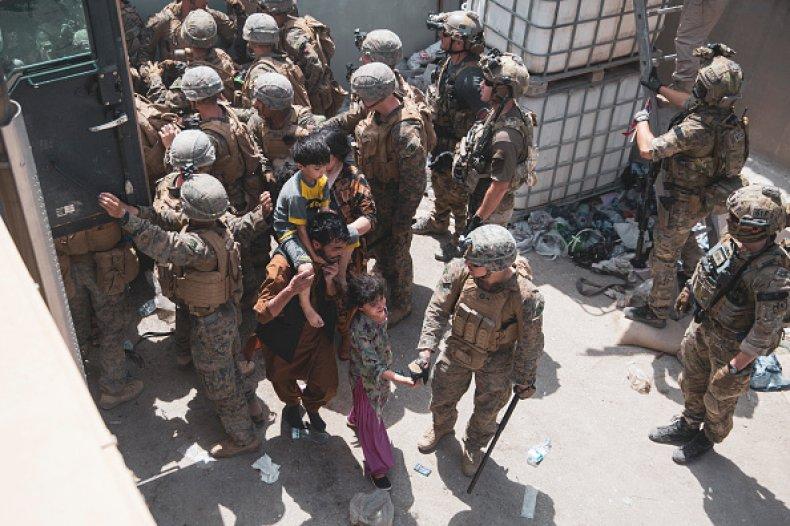 Marines American Kabul Airport Explosion Identified Afghanistan