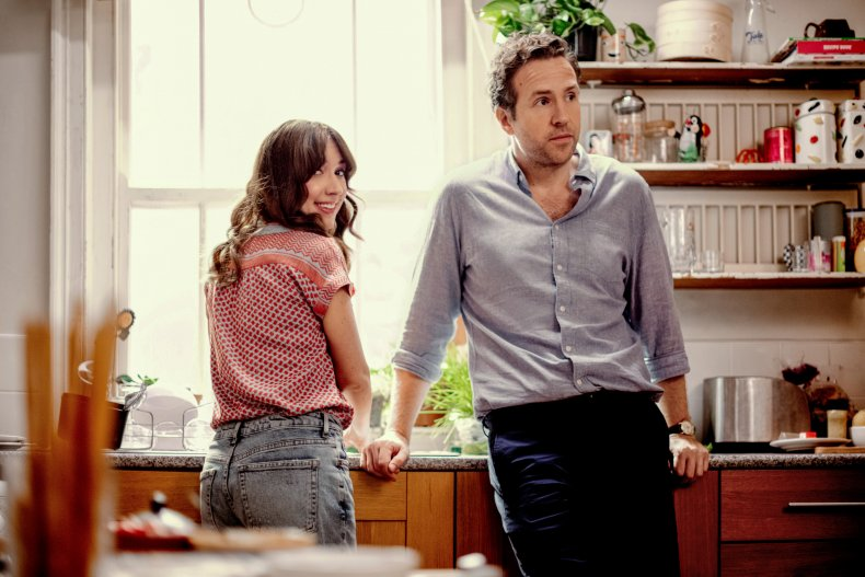 Rafe Spall and Esther Smith in Trying