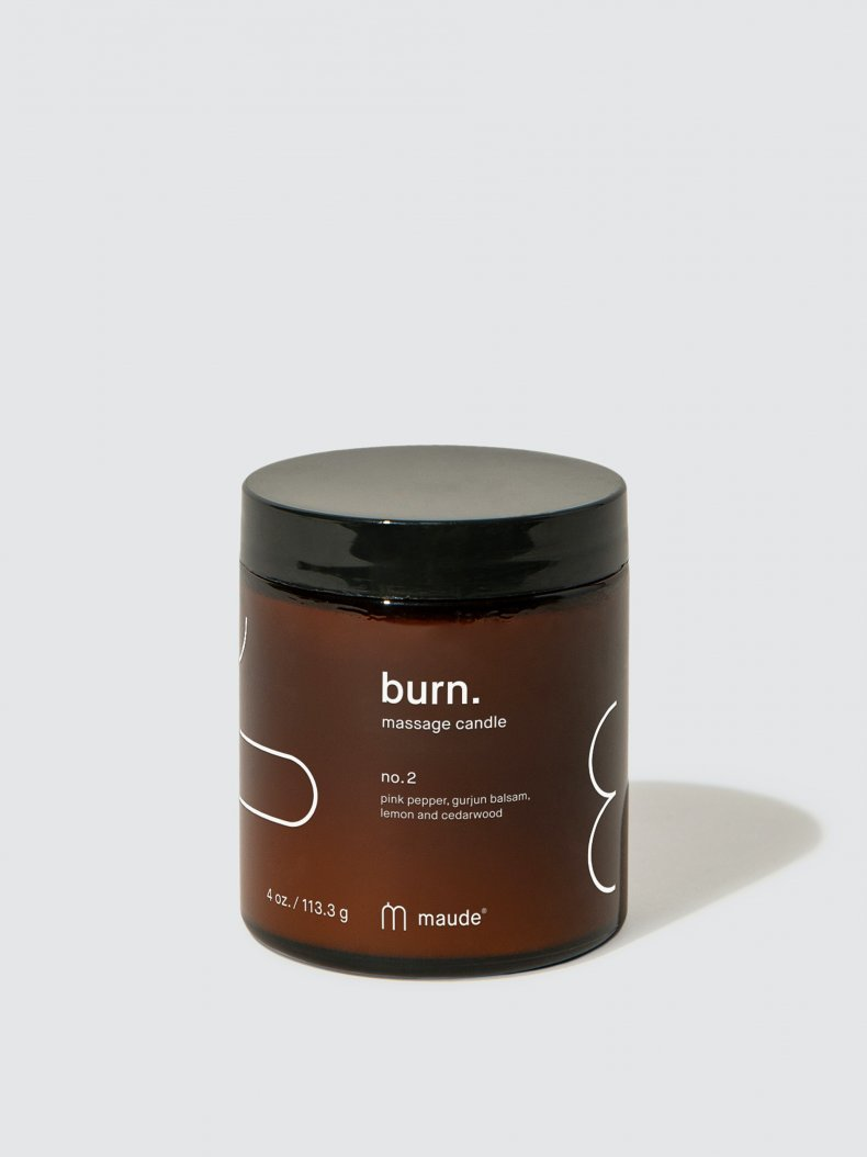 Burn No. 2 Massage Candle
