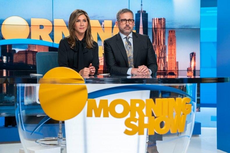 Jennifer Aniston, Steve Carell in Morning Show