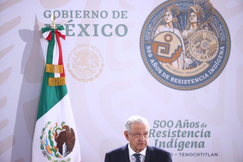 Mexico's President Andrés Manuel López Obrador
