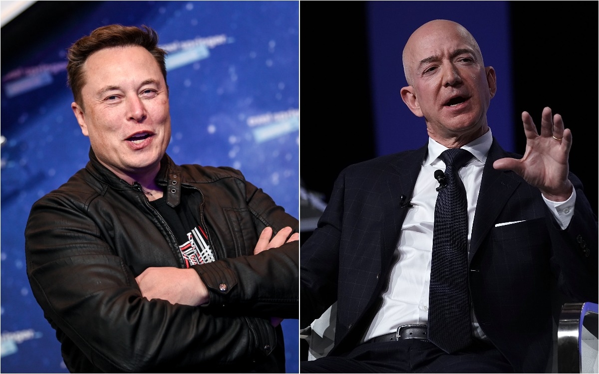 Elon Musk takes aim at Jeff Bezos again as Amazon complains about Starlink