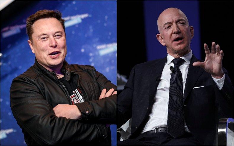 Musk and Bezos