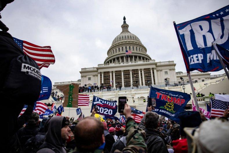 Pro-Trump supporters