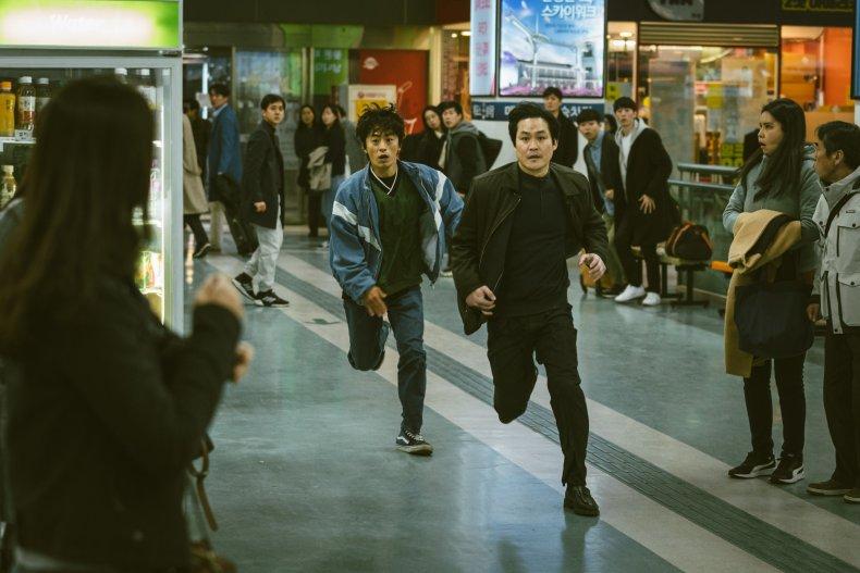 A still from new Netflix K-drama D.P.