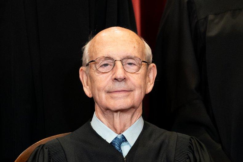 Stephen Breyer retirement plans