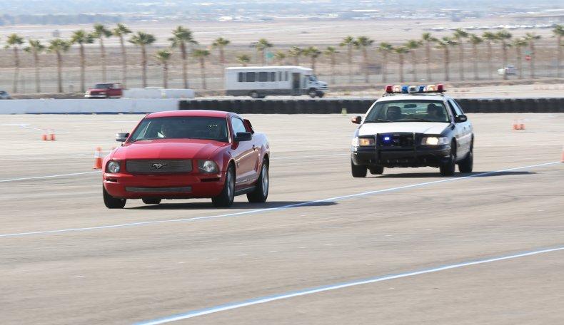 Utah Idaho Police Chase