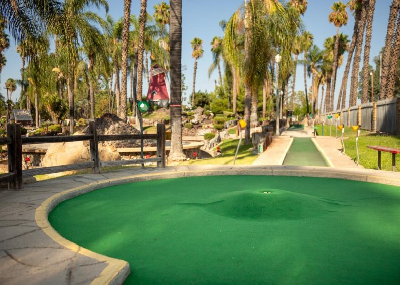 California: Golf Gardens Miniature Golf
