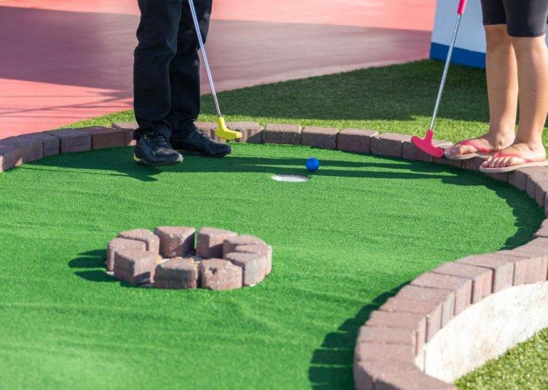 Texas: Peter Pan Mini Golf