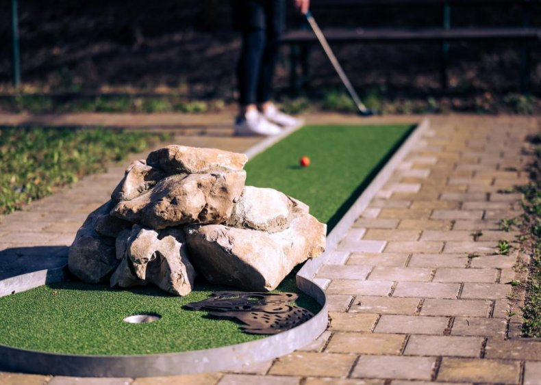 Wyoming: Cody City Park Miniature Golf Course