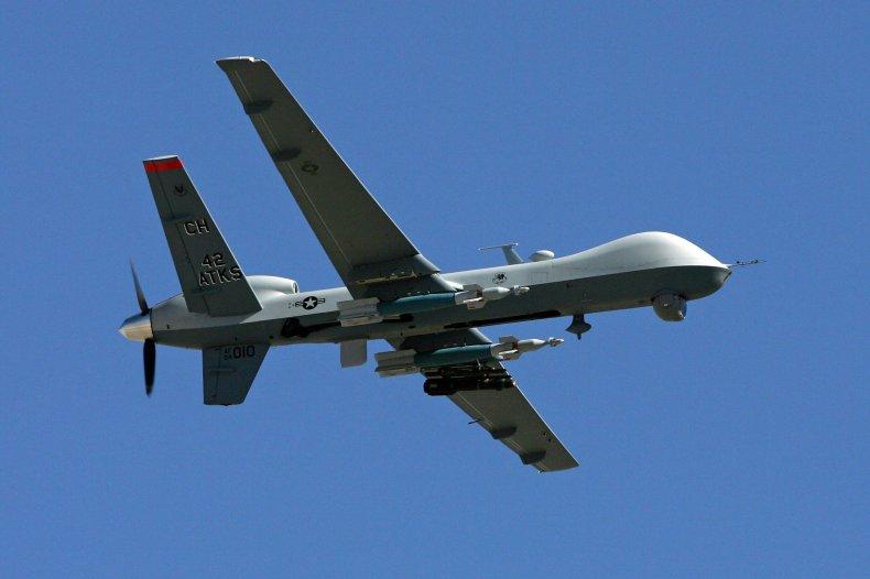 Afghanistan ISIS-K airstrike drone Kabul terrorist bombing