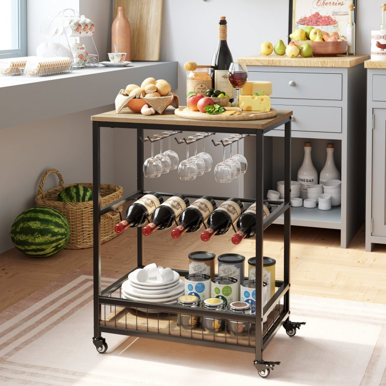 Lex Bar Cart by Willison Forge