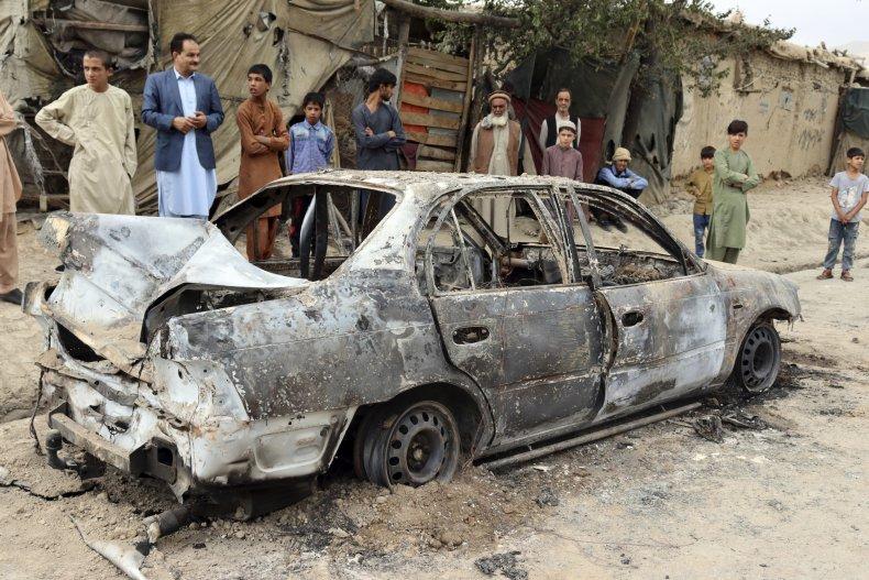 Kabul Rocket Attack