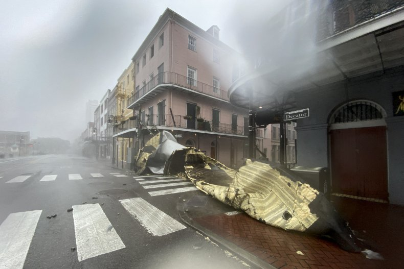 New Orleans Ida
