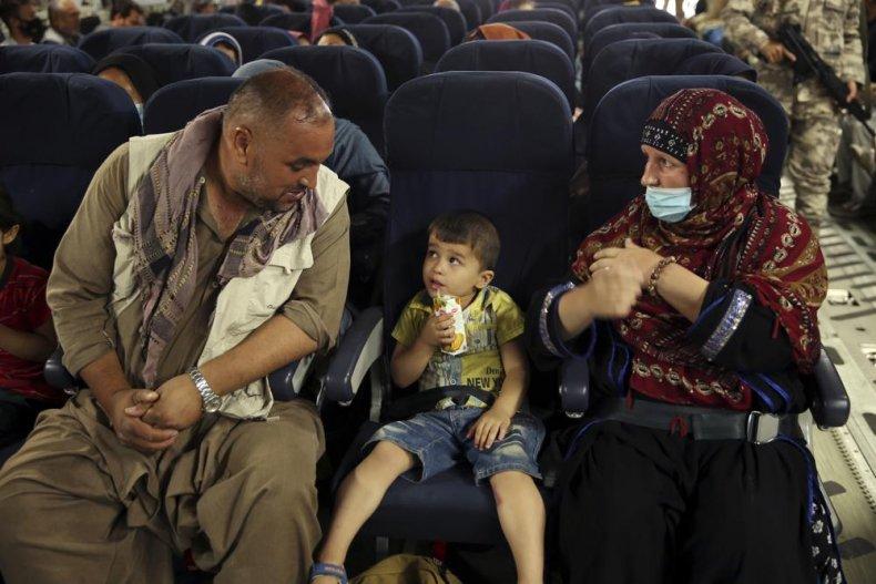 Afghans Evacuated by Qatar