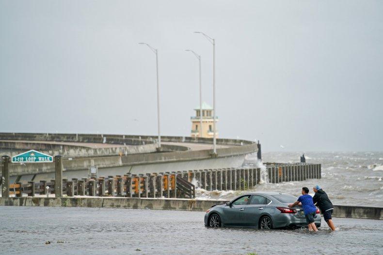 Ida Flooding Biloxi