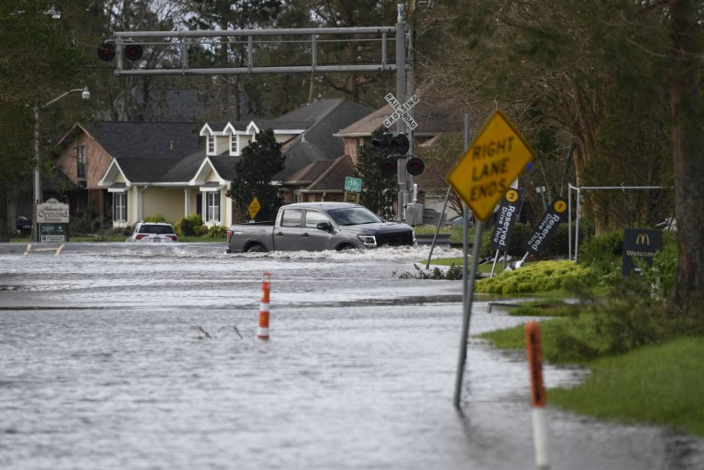 Ida Flooding Destrehan