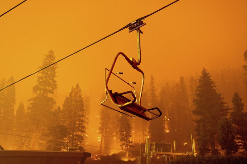 Lake Tahoe Evacu