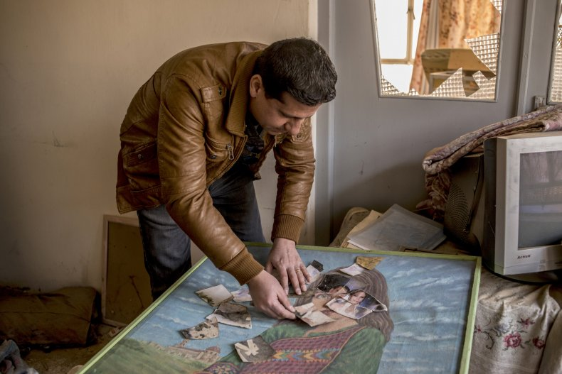 An Assyrian man who fled Islamic State