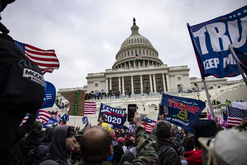"""Trump Supporters Hold """"Stop The Steal"""" Rally"""
