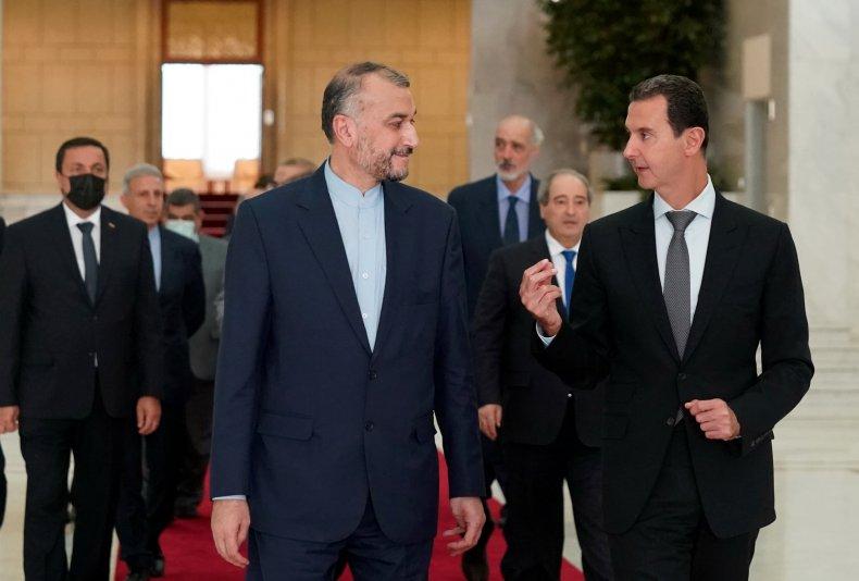 Iran, Amir-Abdollahian, Syria, Assad, trip