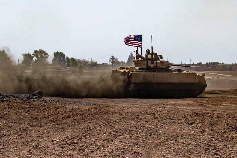 US, troops, northeastern, Syria