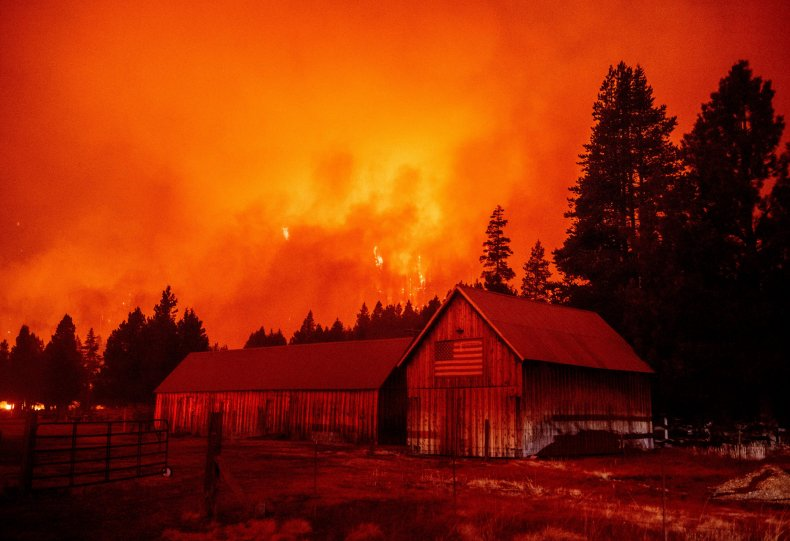 Caldor Fire continues to burn