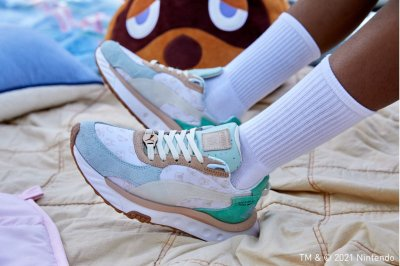 Animal Crossing Puma Wild Rider Sneakers