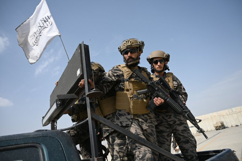 Taliban Badri special force fighters.