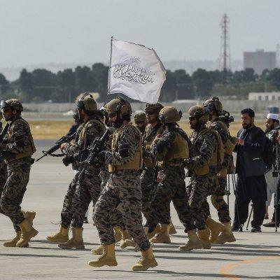 Elite Taliban units arrive at Kabuls airport