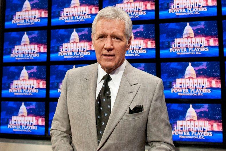 """Late """"Jeopardy!"""" host Alex Trebek"""