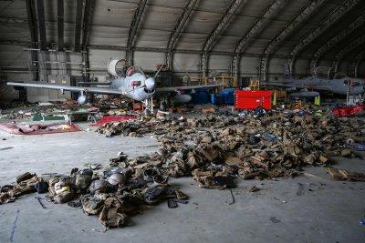 Aircraft in Kabul